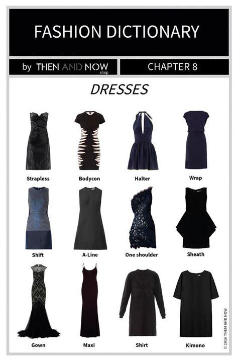 dresses infographic types  dresses fashion dresses