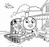 Thomas Coloring Train Pages Printable Friends Sheets Christmas Engine Caboose Tank Children Print Cartoon Giant Yoohoo Signs 4kids Crayola Clipart sketch template