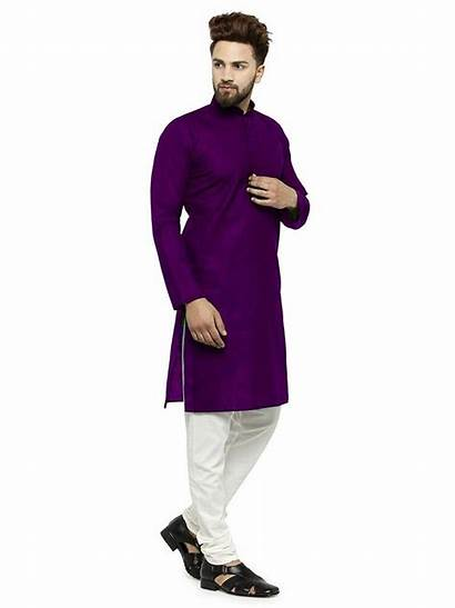 Indian Kurta Casual Shirt Traditional Wear India