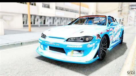Nissan Silvia S15 D1gp Blue Toyo Tires For Gta San Andreas