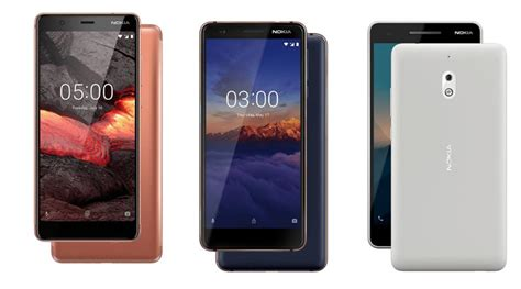 nokia 5 1 nokia 3 1 and nokia 2 1 launched