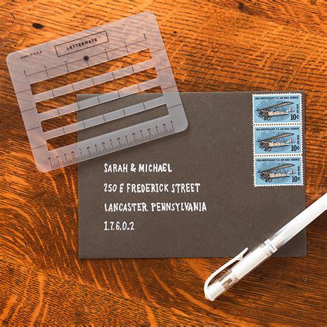 original lettermate stationary addressing