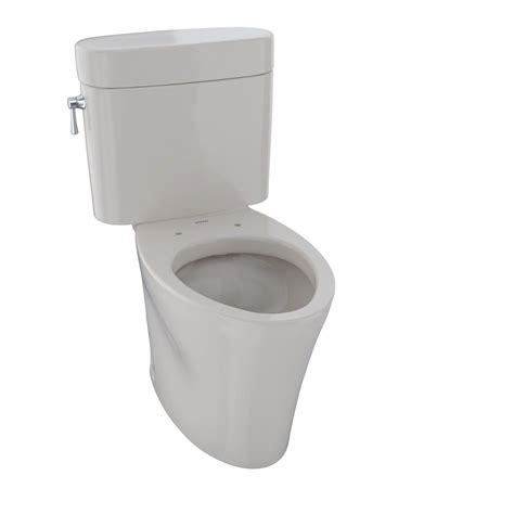 toto nexus  piece  gpf single flush elongated toilet