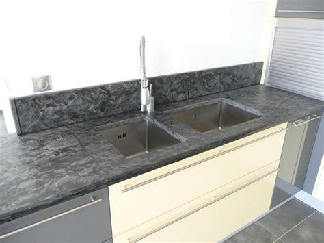 plan de travail paillete plan de cuisine en granit matrix 171 azur