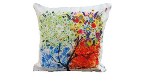 my pillow free shipping code colorful tree throw pillow cover 1 19 free shipping on