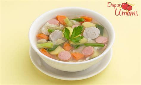 Sup tahu daging asam manis ala masako® 5.00. Resep Sayur Sop Sajiku® - Dapur Umami Stage