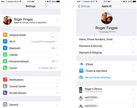 how to change apple id on iphone 5 how to manage your apple id icloud iphone backups more