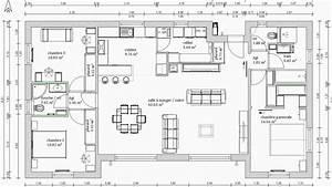 Plan Maison 4 Chambres Avec Suite Parentale : plan maison plain pied 3 chambres avec suite parentale xqi02 slabtownrib ~ Melissatoandfro.com Idées de Décoration