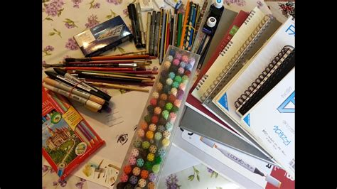 drawing supplies  materials youtube