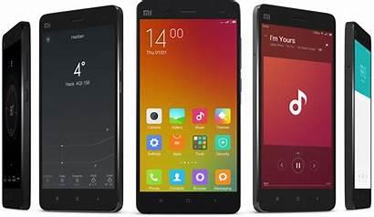 Xiaomi Mobile Smartphones Through Mi4