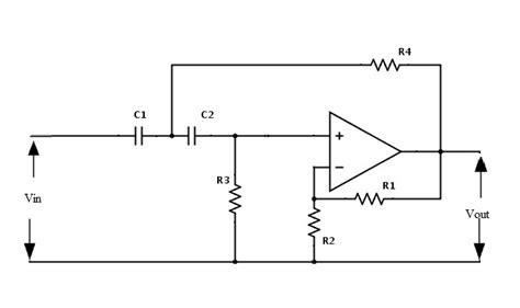 Active High Pass Filter Circuit Design Applications
