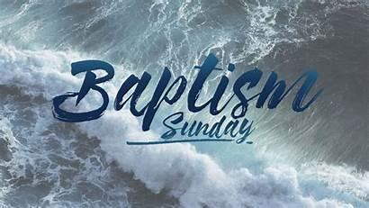 Baptism Sunday Baptist Church January Baptisms Point