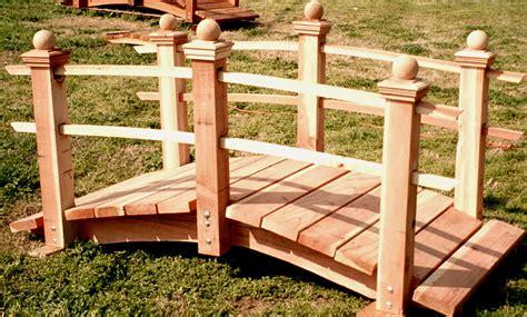 woodworking build a wooden garden bridge plans pdf