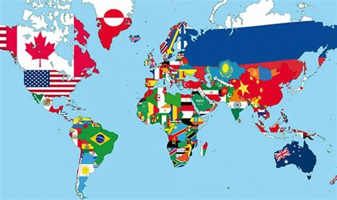 How Many Are In The World by How Many Of These Flags Of The World Can You Identify