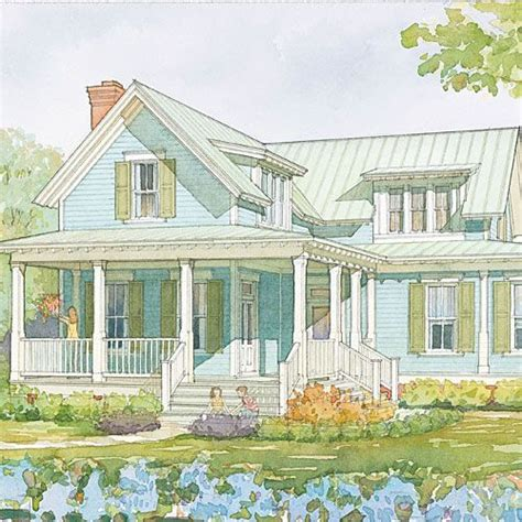 Casual Classic Southern House by 7 Wildmere Cottage Plan No 1110 A Classic