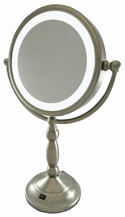 Mirror Makeup Illuminated Homedics Led