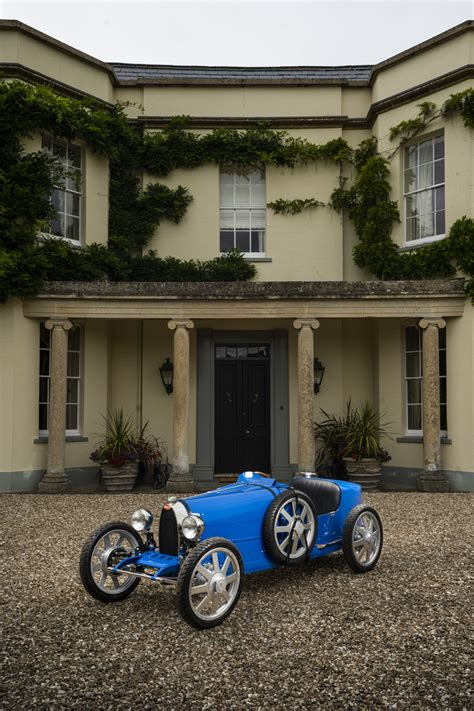 Bugatti detailed the baby ii, a modern replica on the original baby built in 1926. For Millionaire Babies: Bugatti Baby II with $33,000 Price Tag - GTspirit