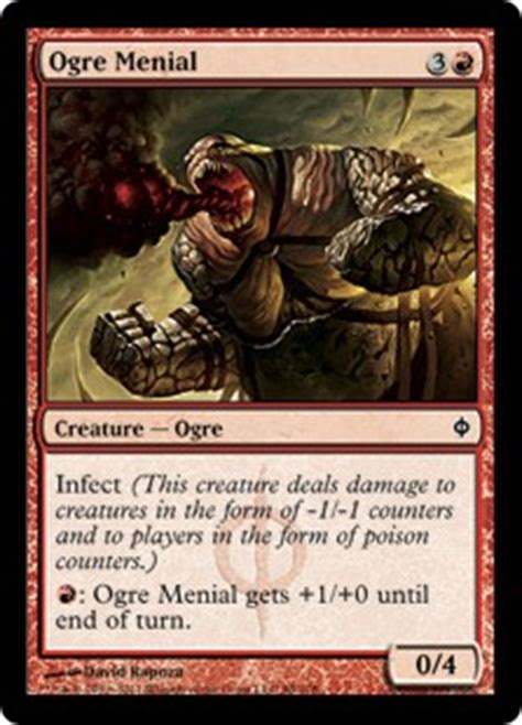 Infect Deck Mtg Legacy by Ogre Menial