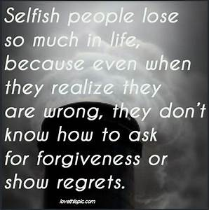 Quotes About Selfish Teenagers. QuotesGram