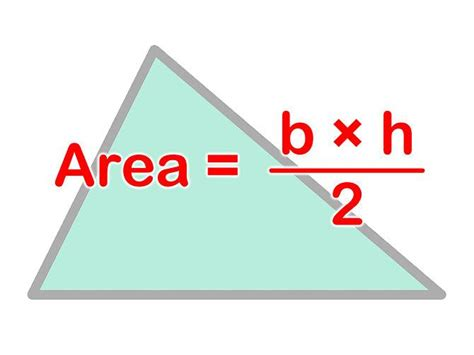 How To Area Of A Triangle Area Of A Triangle
