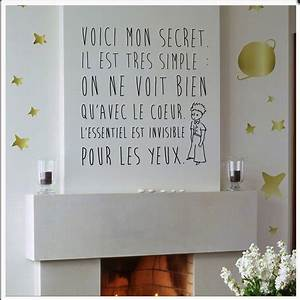 Deco Petit Prince : le petit prince d co citation citation fran ais quotation french white prince nursery ~ Melissatoandfro.com Idées de Décoration