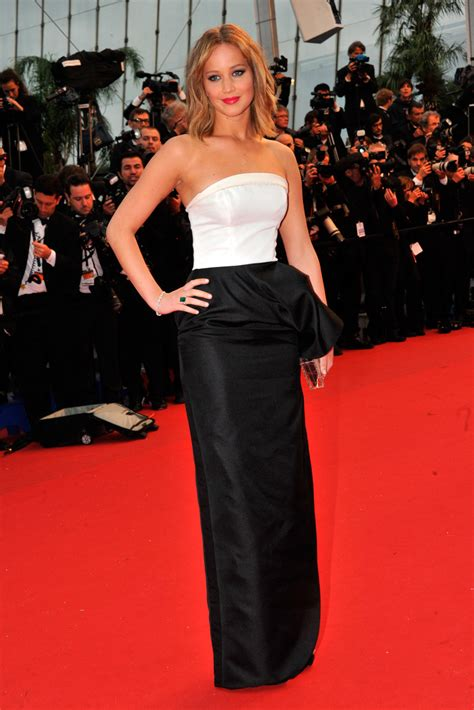 Jennifer Lawrence Rocks Three Dior Outfits At Cannes 2013