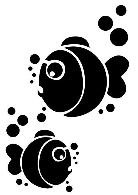 poule deco cuisine pochoir theme poisson d 39 avril aux petites trouvailles
