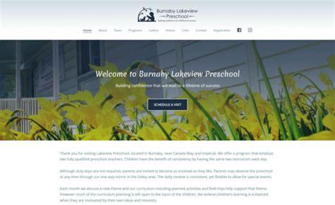 vancouver graphic design portfolio burnaby logos print 967 | website burnaby lakeview preschool 620x380