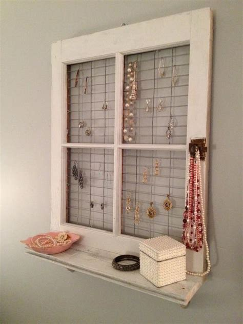See more ideas about window wall decor, decor, window wall. Vintage Window Frame and Shelf Wall Decor