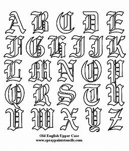 large free printable tattoo designs tattoo fonts free With tattoo letter stencils