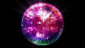 Circle Light Mirror 3d Disco Mirror Ball Reflecting Colorful Lights And Lasers