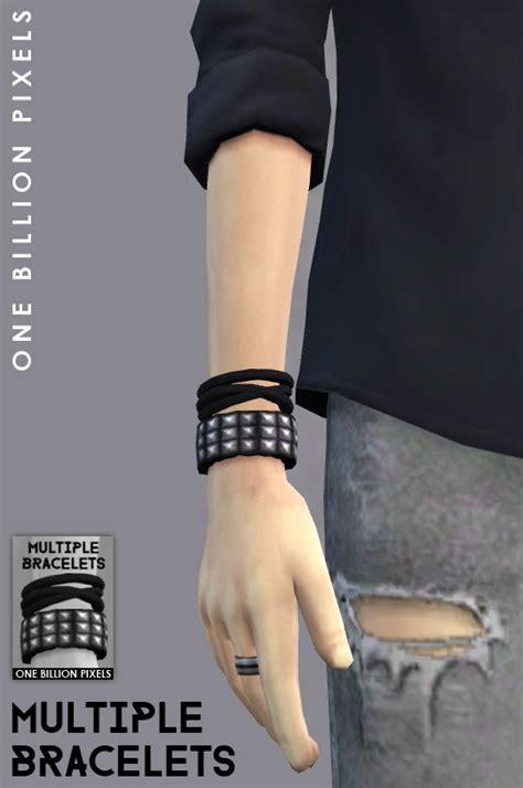 billion pixels multiple bracelets male sim sims