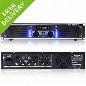 New Ekho Pro Rx600 Power Amplifier
