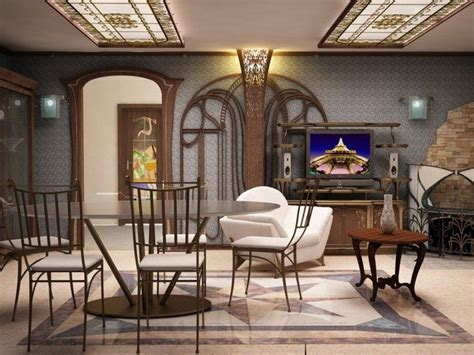 Art Nouveau Interior Design Ideas You Can Easily Adopt In