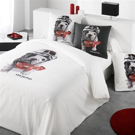 teo teo racing blanc housse de couette blanc