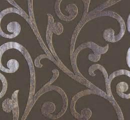 tapete beige braun marburg vliestapete ornamental home tapete 55247 floral ranken braun lila beige