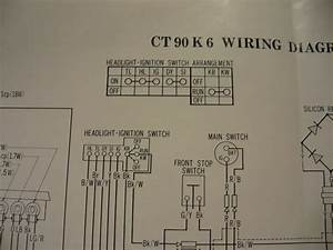 Ct90 Electrical System  Stator  U0026 Rectifier Wiring