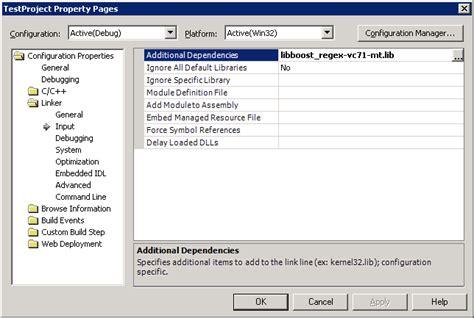 C++ Programming/compiler/linker/libraries/configuring