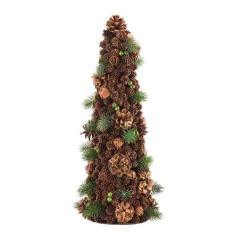 large pine cone holiday tree decor christmas decorations