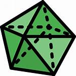 Dodecahedron Icon Icons