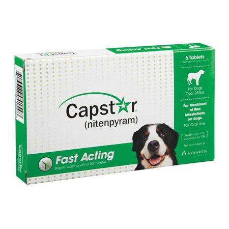 capstar oral flea treatment  large dogs  tablets
