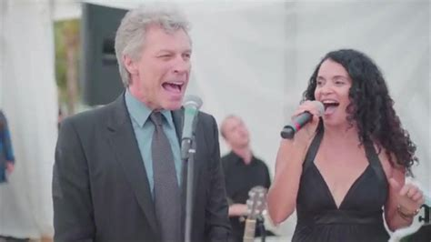 Jon Bon Jovi Jumps Stage Wedding Video Abc News