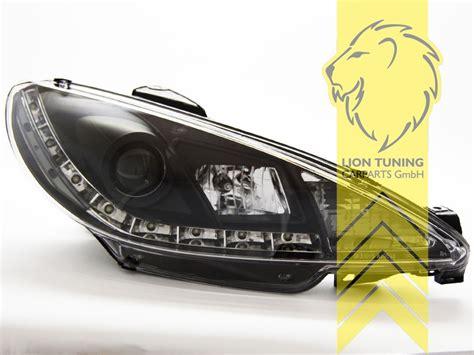 peugeot 206 scheinwerfer liontuning tuningartikel f 252 r ihr auto