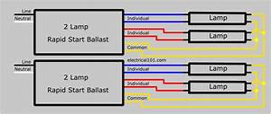 4 Light Rapid Start Ballast Wiring Diagram
