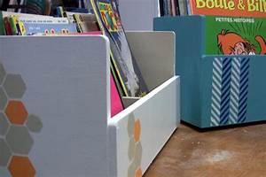 Presentoir Livre Enfant : fabriquer des pr sentoirs et bacs livres en bois ~ Teatrodelosmanantiales.com Idées de Décoration