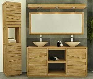 vente meuble de salle de bains teck 140 walk meuble en With meuble de salle de bain en teck solde