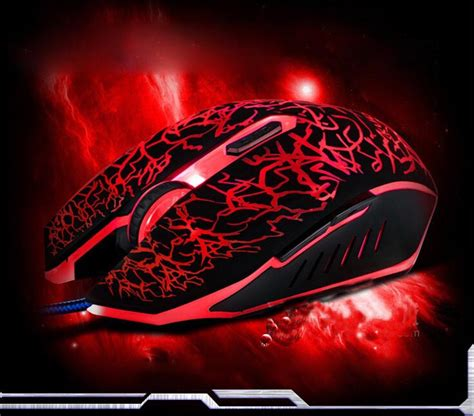 colourful led  dpi optical wired gaming mouse