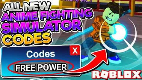 secret power codes  anime fighting simulator