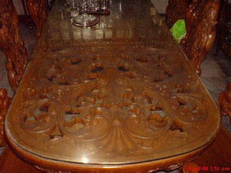 seater solid narra dining table  sale  manila