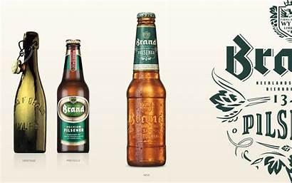 Beer Brand Modern Bier Packaging Label Agency